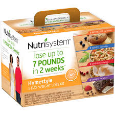 nutrisystem 5 day homestyle weight loss kit walmart com