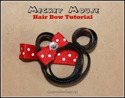 minnie mouse hair bow minnie mouse hair bow tutorial