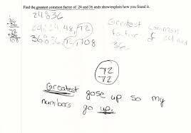 Finding Gcf And Lcm Worksheets Greatest Common Factors Students Are Given Two Whole Numbers Less