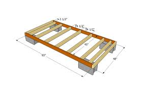 Pier Foundation House Plans by Dek Block Piers For Shed Dors And Windows Decoration