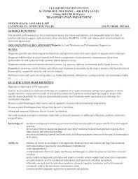 resume template sle docx pilot resume service template journey level mechanical repairs
