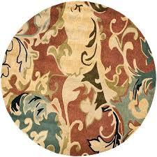 rust color area rugs bellacor