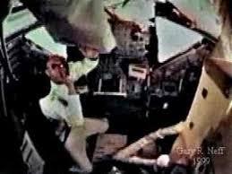 Lunar Module Interior Buzz Aldrin Inside The Eagle Lunar Lander Youtube