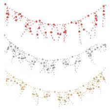 tree berry pearl bead garland decoration 2 meters ebay