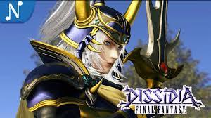 Warrior Of Light New Warrior Of Light Gameplay Dissidia Final Fantasy 2015
