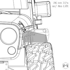 jeep jk suspension diagram on the rocks a blog sema jk clearance diagrams pic flop of