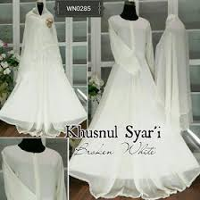 wedding dress syari faeyzalakeishaolshop supplier gamis baju online murah