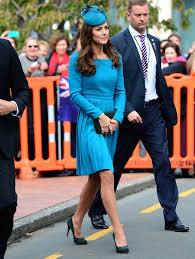 kate middleton wearing blue popsugar fashion