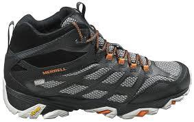 merrell men u0027s moab fst mid waterproof hiking boots u0027s