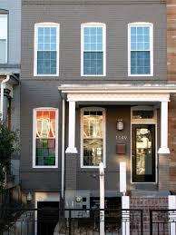 century row house plans home ideas picture hstar sanchez grey townhouse sxnd hgtvcom row house architecture hgtv century