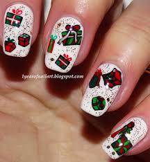christmas nail art u2013 365daysofnailart