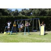 Flexible Flyer Backyard Swingin Fun Metal Swing Set Round Tree Swings