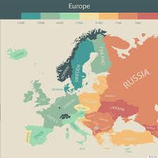 Eu Countries Map Here Are The Countries Where People Have The Most Money To Spend