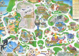 Sea World Map Image Gallery Seaworld Map