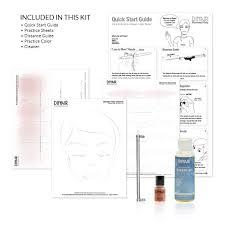 amazon com dinair airbrush pro makeup kit medium shades 10pc
