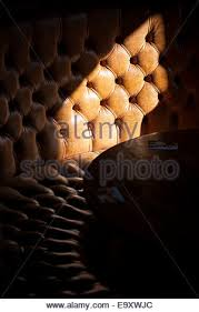 Used Leather Sofa by Leather Sofa Furniture Lounge Used Old Shabby Stock Photo