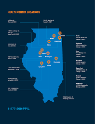 Illinois On A Map by Online Appointments U0026 Locations Planned Parenthood Of Illinois