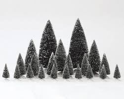 lemax assorted frosted pine tree 21