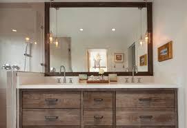 should vanity lights hang over mirror hanging pendant lights over bathroom vanity erikaemeren