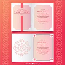 tri fold invitation template sle wedding brochure wedding planner tri fold brochure