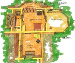 Storybook Floor Plans The Storybook U2014 U2014new U2013 Taron Design Inc Log Home Plans
