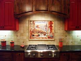 Mexican Tile Murals Chili Pepper Kitchen Backsplash Mural - Mexican backsplash