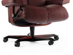 Stressless Consul Office Chair  Patented PlusSystem TM  View Options