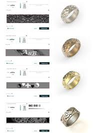 wedding ring app make your own ring online 3d printing i materialise