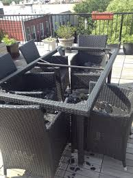 replace broken glass table top patio table glass top replacement table decoration ideas