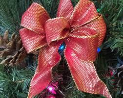 ornament bows etsy