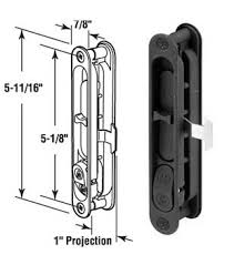 Patio Door Hardware Replacement Wgsonline Sliding Patio Screen Door Latch And Pull 5 1 8 H C