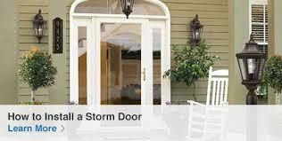 Kitchen Garden Window Lowes by Shop Storm Doors U0026 Frames At Lowes Com