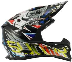 helmet motocross suomy alpha skull motocross helmet red buy cheap fc moto