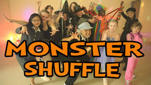 monster shuffle halloween dance song for children popular