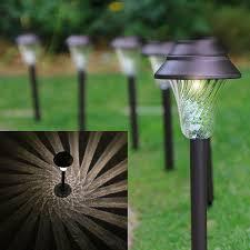 solar path lights reviews amazon com enchanted spaces solar path light set of 6 bronze