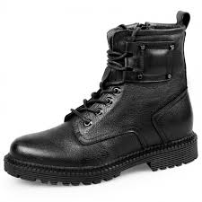 motorcycle boots and shoes taller motorcycle boots for men height 8cm 3 2inch warm elevator