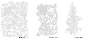 mini texture fx airbrush stencils by gerald mendez art