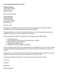 persuasive career change cover letter persuasive career change