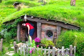 lotr reini remarks the big world top the baggins house bilbo and frodo home stands tree big beautiful right looks real well was first