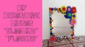 mirror decoration at home diy mirror decor youtube