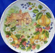 royal albert harvest festival collector plates www