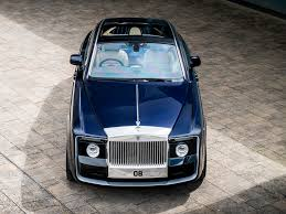 roll royce road rolls royce sweptail may be most expensive new car ever built