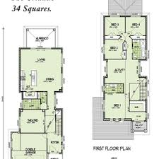 narrow house plan floor plans for narrow homes home deco open daycare