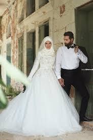 robe de mari e l gante nsm 11 vintage élégante manches longues arabe robe de mariée tulle