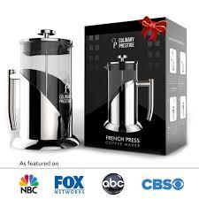 amazon com french press coffee u0026 tea maker 8 cup 34 oz