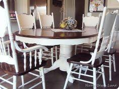 Redo Kitchen Table by Dining Table Before U0026 After At Navy Bean Lane Navy Bean Lane