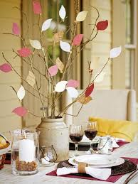 easy to craft fall leaf centerpiece hgtv