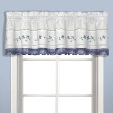 Curtain Valances Designs Buy Kitchen Curtains Valances From Bed Bath U0026 Beyond