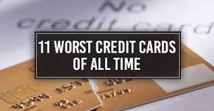 Discover Business Card Review 11 Worst Credit Cards Of All Time Cardrates Com