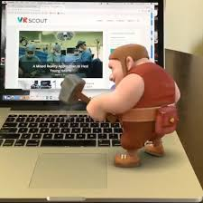 clash of clans fan art clash of clans ar experience comes to facebook vrscout